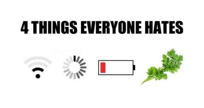 Green - 4THINGS EVERYONE HATES