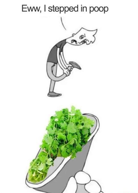 Cartoon - Eww, I stepped in poop