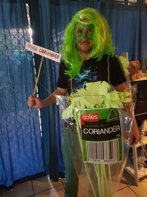 Green - #F K CORIANDER coles AUSTRALIAN CORIANDER 35G loODEVIL WEED341 at a R