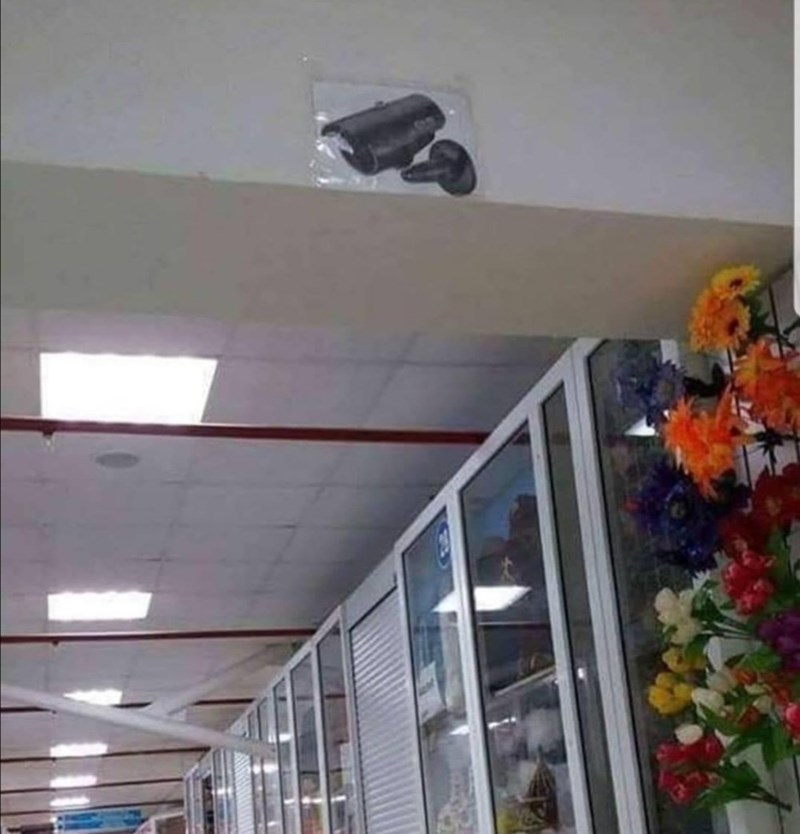 a picture of a security camera