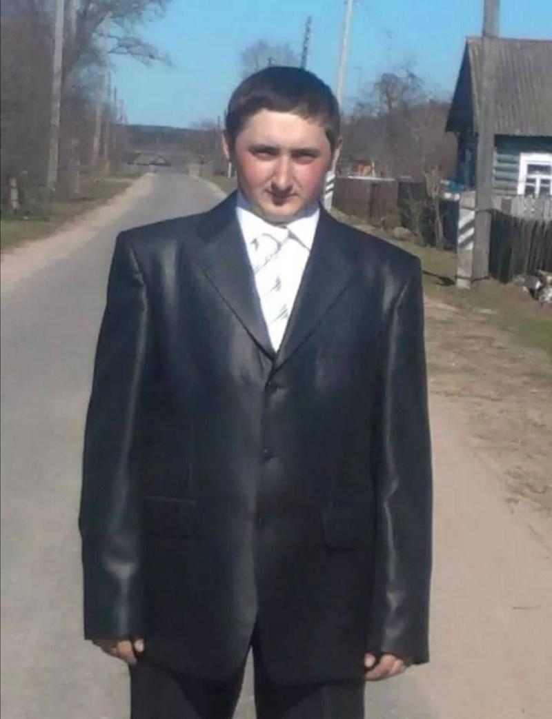 slav weirdness - Suit
