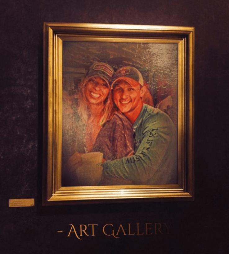 "couple photoshop fail - Painting - - ART GALLERY H26 35"""