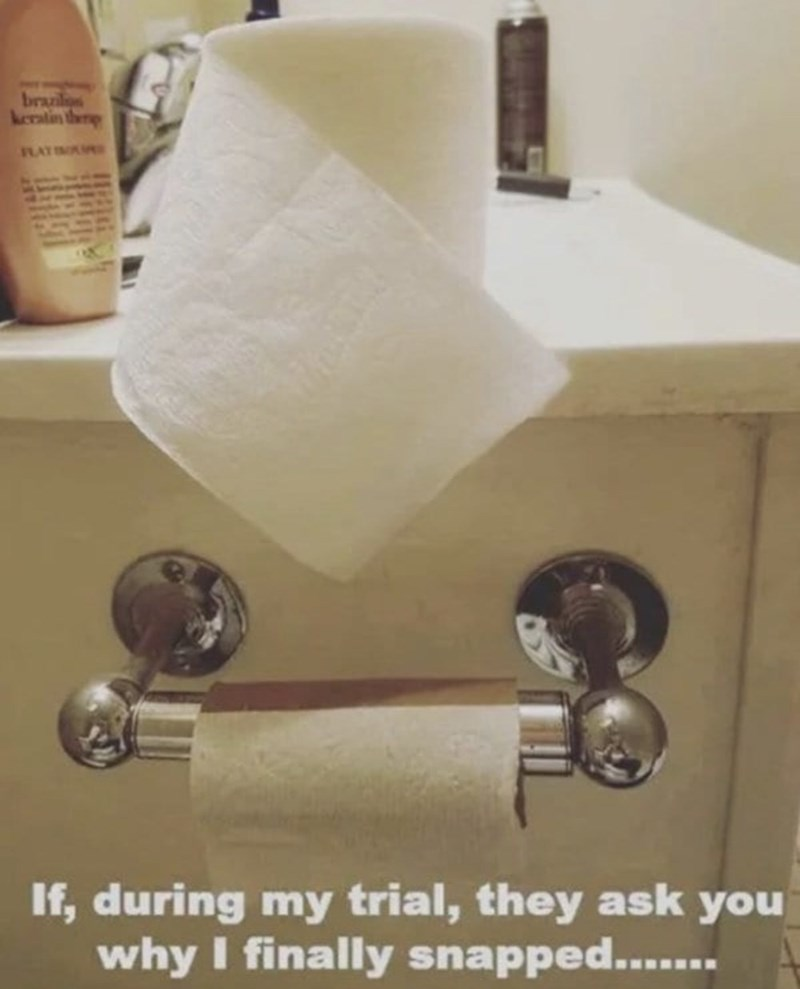 funny men - Bathroom accessory - brazil keratin the RAT If, during my trial, they ask you why I finally snapped.....
