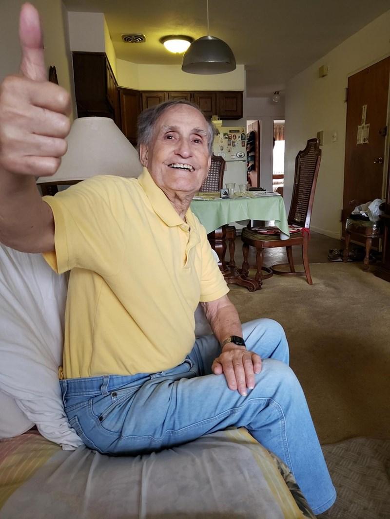 funny grandpa hearing aids story - Arm - 0 D