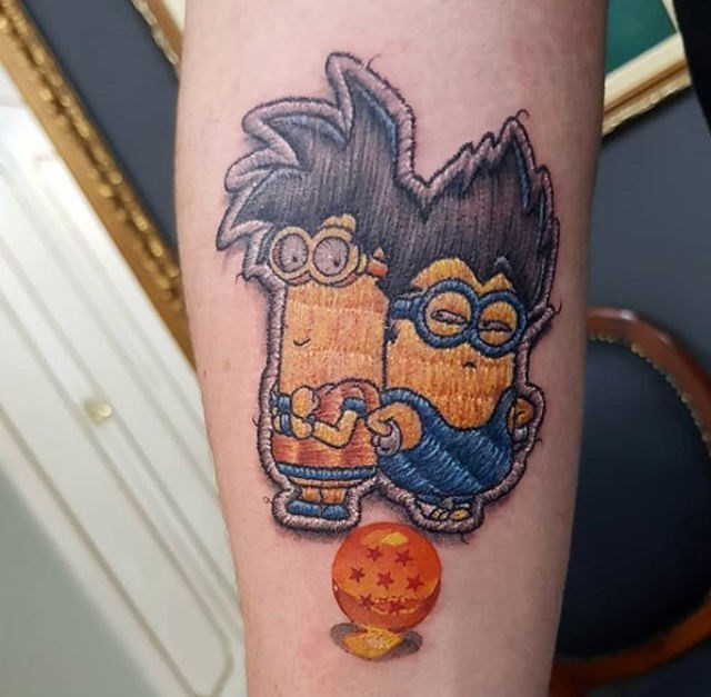 cursed tattoo - Tattoo