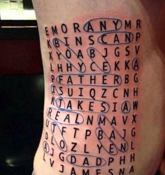 cursed tattoo