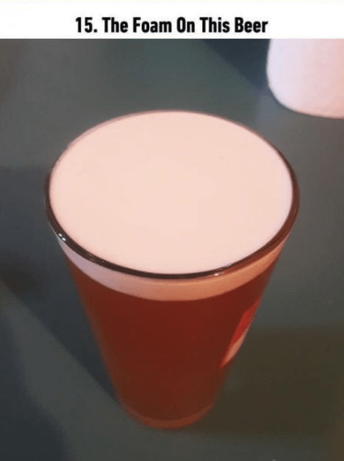 soothing image - Drink - 15. The Foam On This Beer