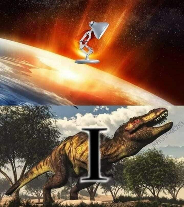 Meme - Dinosaur - 770 COR