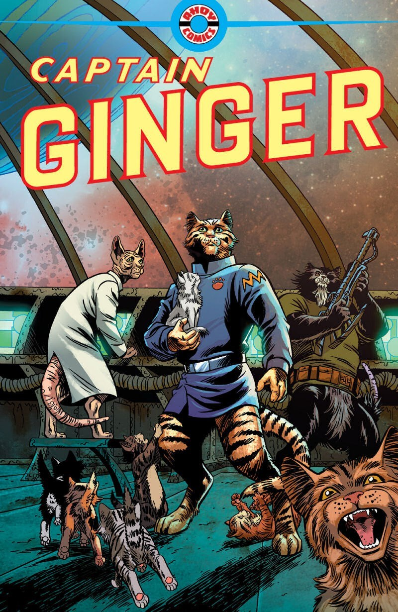 cats in space comic - Comics - BADE CEIMICS CAPTAIN GINGER