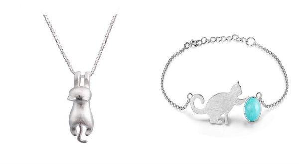 cat jewelry on Amazon