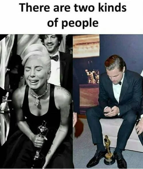 funny pic - Photo caption - There are two kinds of people