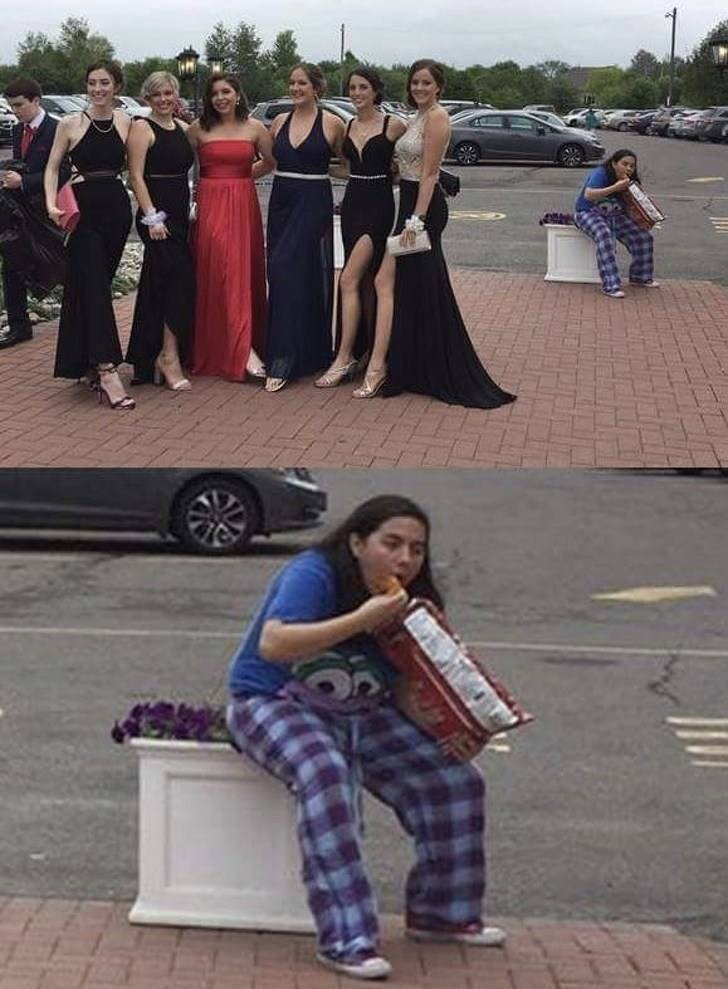 funny pic - Street performance