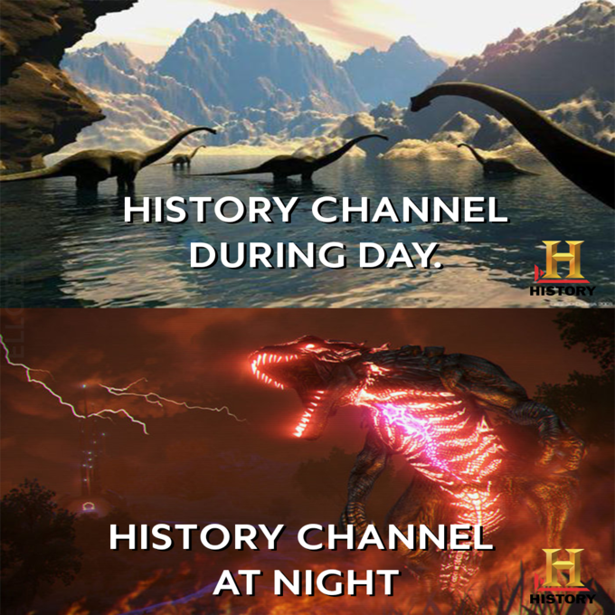 Geological phenomenon - HISTORY CHANNEL DURING DAY HISTORY HISTORY CHANNEL AT NIGHT HISTORY