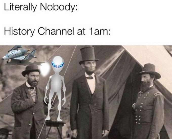 Gentleman - Literally Nobody History Channel at 1am: