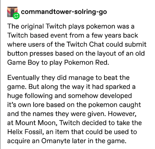 pokemon probability - Text - commandtower-solring-go The original Twitch plays pokemon was a Twitch based event from a few years back where users of the Twitch Chat could submit button presses based on the layout of an old Game Boy to play Pokemon Red