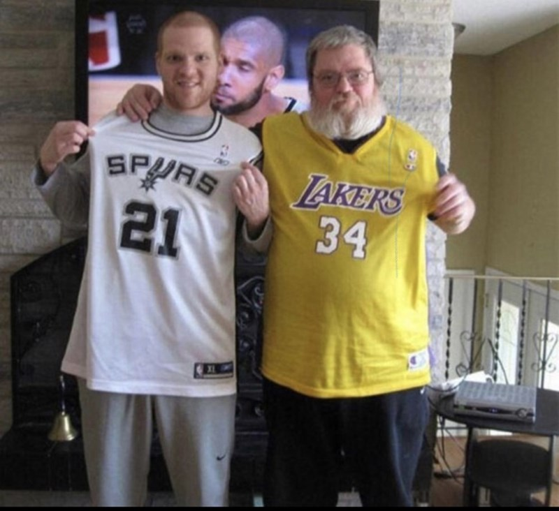 wtf pic - Sportswear - LAKERS 34 SPURS 21