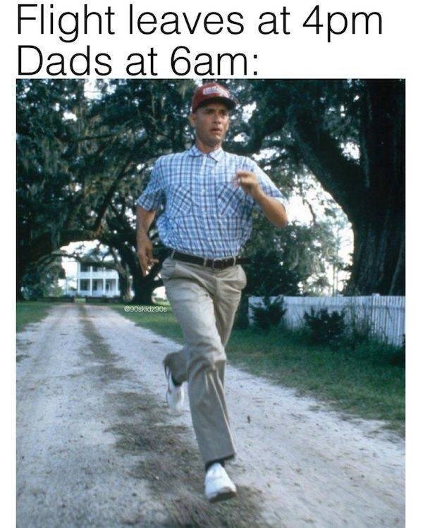 Photograph - Flight leaves at 4pm Dads at 6am: S06ZPD806