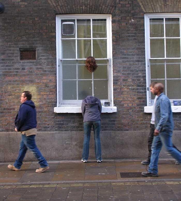 misplaced mannequin - Window