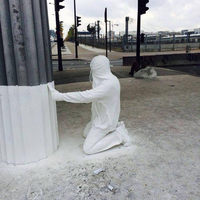 misplaced mannequin - White