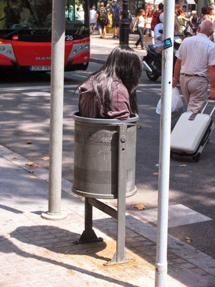 misplaced mannequin - Public space - 35 MAN 2638 FKC