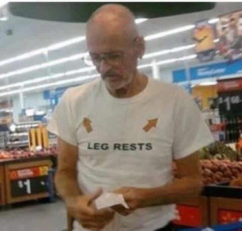 Supermarket - LEG RESTS $1