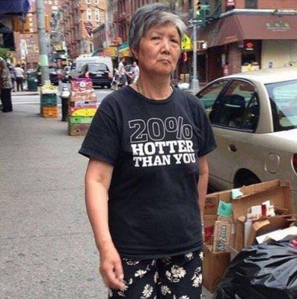 T-shirt - 20% HOTTER THAN YOU