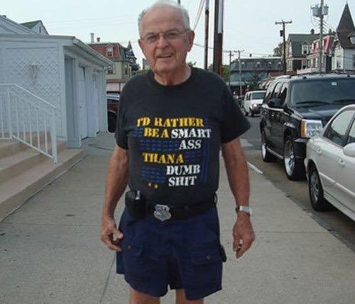 T-shirt - rD RATHER BEA SMART aASS THANA DUMB SHIT