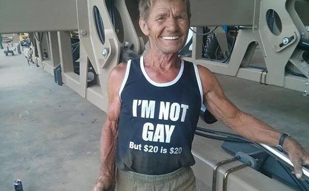 Shoulder - I'M NOT GAY But $20 is $20