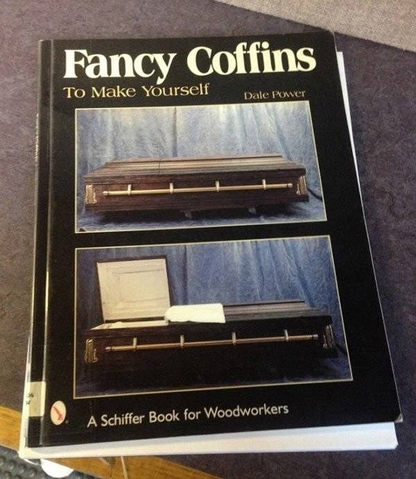 how to book - Electronics - Fancy Coffins To Make Yourself Dale Power A Schiffer Book for Woodworkers