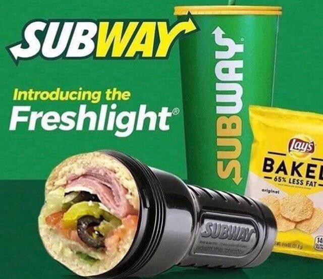 SUBWAY Introducing the Freshlight lays BAKE -65% LESS FAT eriginal SUBWAY 14 RNEO dane.ceto SUBWAY