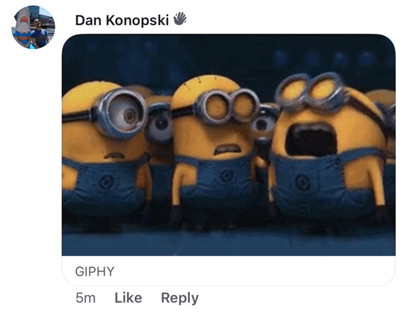 millennials - Yellow - Dan Konopski GIPHY 5m Like Reply