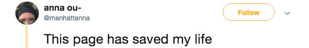 millennials - Text - anna ou- Follow @manhattanna This page has saved my life