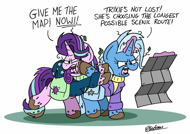 the great and powerful trixie bob the dalek starlight glimmer - 9324902656