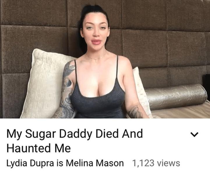 Shoulder - My Sugar Daddy Died And Haunted Me Lydia Dupra is Melina Mason 1,123 views >