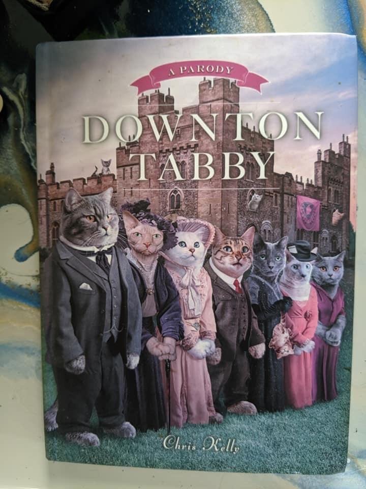 book - Novel - A PARODY DOWNTON TABBY Chris Kell