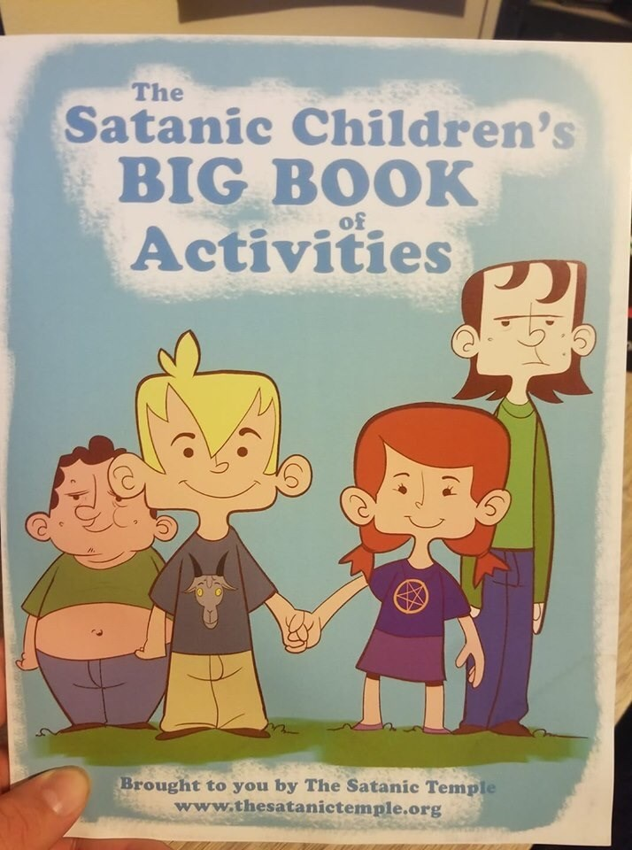 book - Cartoon - The Satanic Children's BIG BOOK Activities of Brought to you by The Satanic Temple www.thesatanictemple.org AS