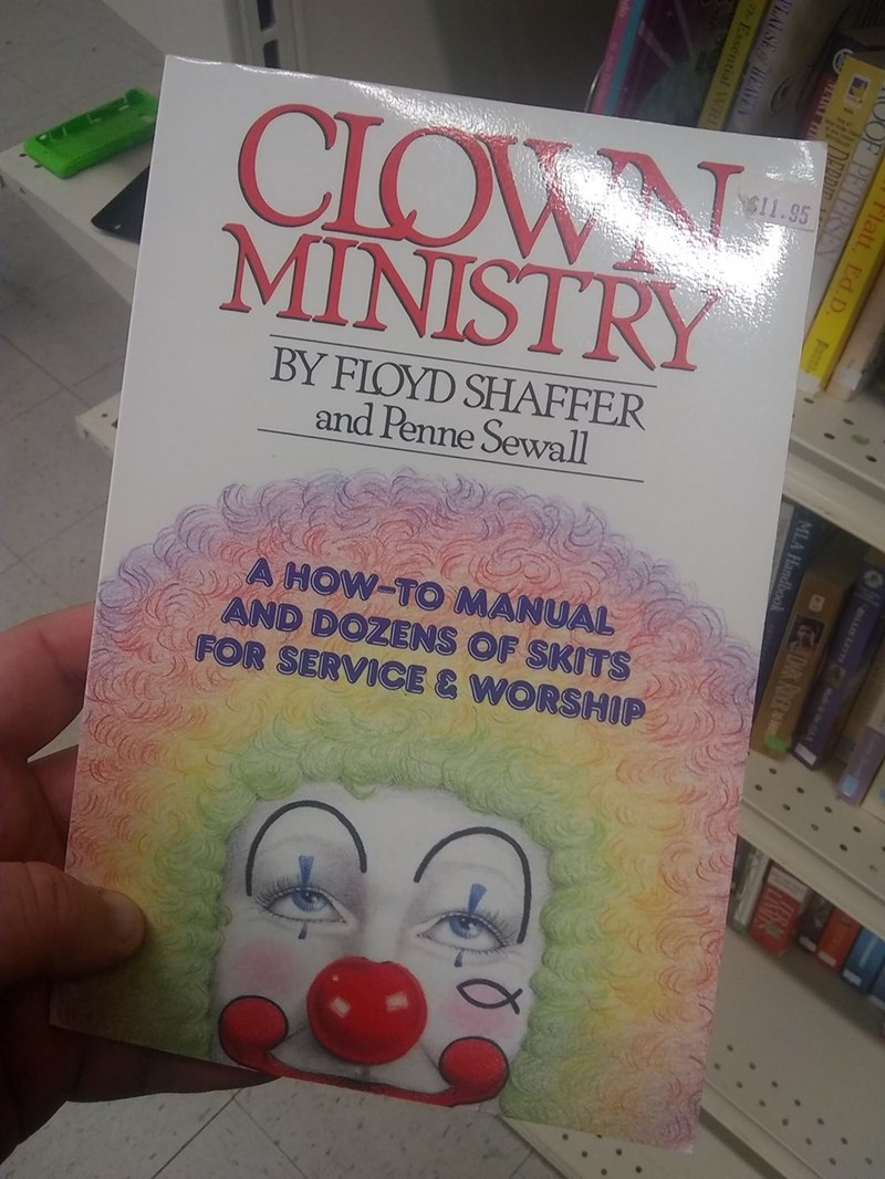 book - Text - CIOWN MINISTRY N$11.95 BY FLOYD SHAFFER and Penne Sewall A HOW-TO MANUAL AND DOZENS OF SKITS FOR SERVICE & WORSHIP ictoc CDK RDER MLA Handbook Flatt OF PET ARH PLAUSE /HEAVE
