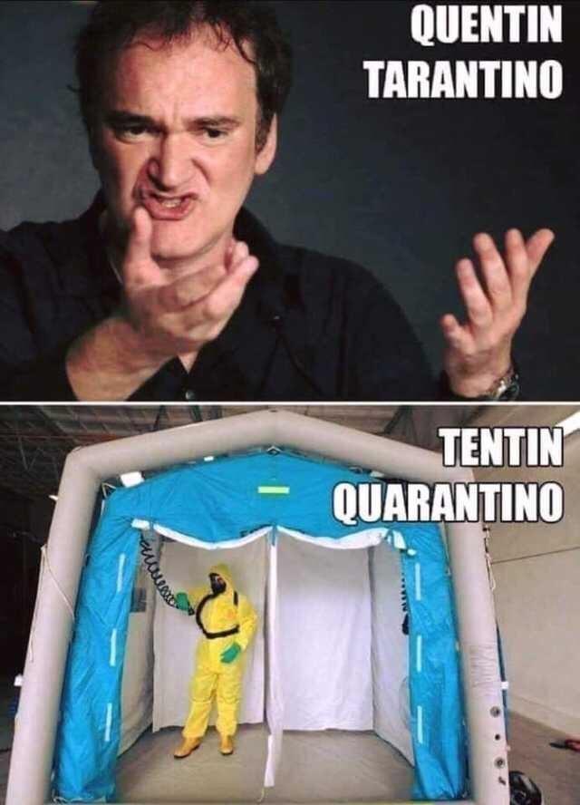 Meme - Action figure - QUENTIN TARANTINO TENTIN QUARANTINO