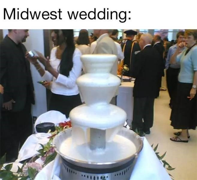 Meme - Dessert - Midwest wedding: