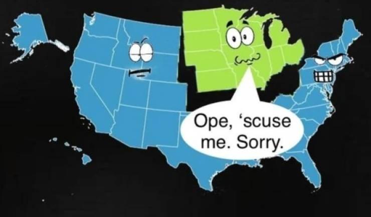 Meme - World - Ope, 'scuse me. Sorry.