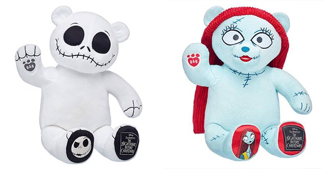 Build-A-Bear Is Back With Exclusive Bundle Of Disney's Nightmare Before Christmas Jack and Sally