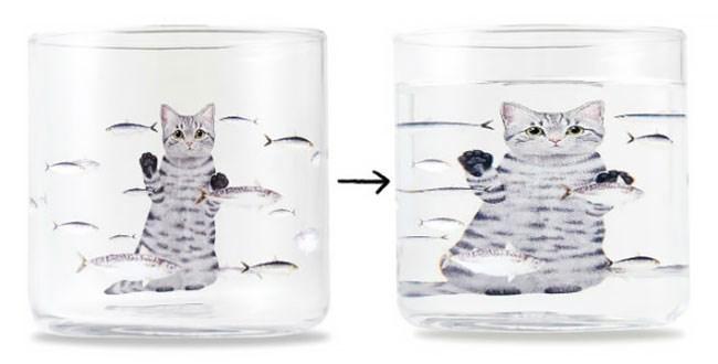 cute cat cup