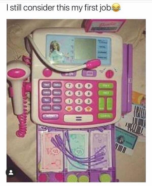 Pink - Istill consider this my first job THTA 0000 0000