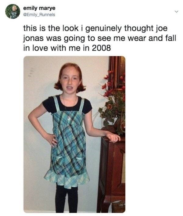Clothing - emily marye Emily Runnels this is the look i genuinely thought joe jonas was going to see me wear and fall in love with me in 2008