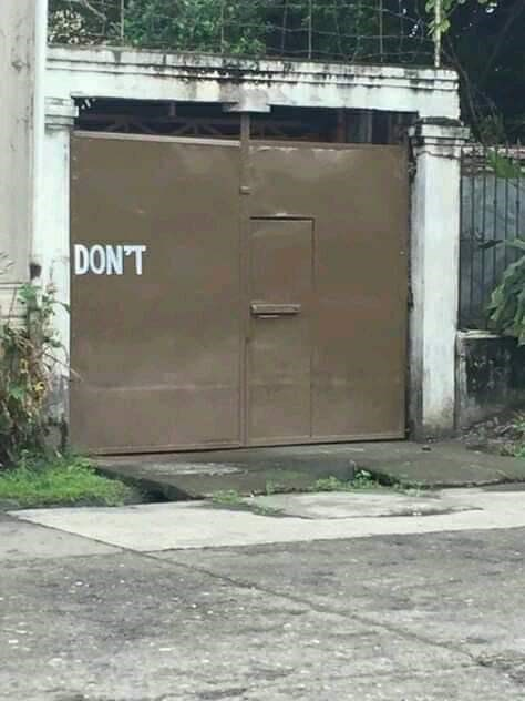 Property - DON'T