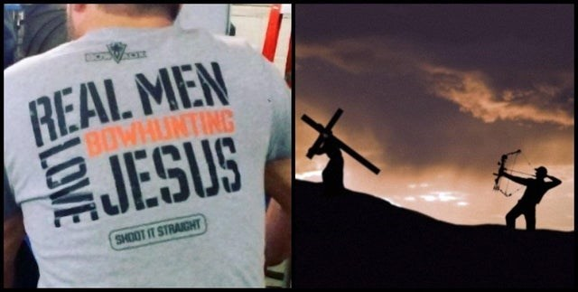 Font - REAL MEN TING EJESUS SHOOT IT STRAIGHT
