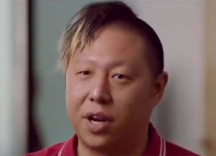 Face with bad hair cut