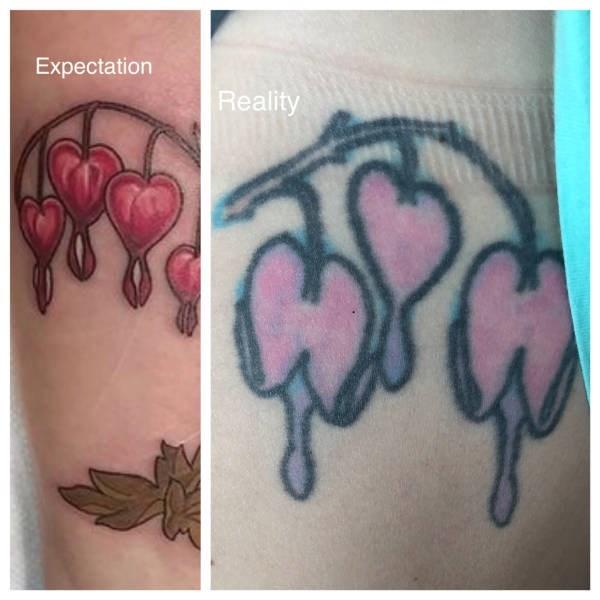 Tattoo - Expectation Reality
