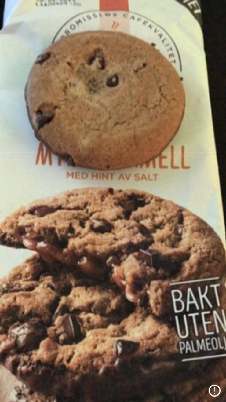 Food - CAF 'sSIMO MED HINT AV SALT BAKT UTEN PALMEOL VALITE