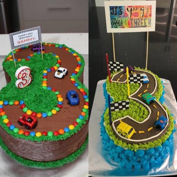 Cake - WCCTHREE HAPPY 3Rp BIRTHDAY SAMMY